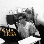 "with tenor Dondi Ong - The University of the Philippines: Noema Erba: Manila Concert 2012 - Rehearsal for ""The Jewels of European Opera"""
