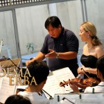 Noema Erba visits and rehearse with the Angono Youth Chamber Orchestra @the City of Angono in the Province Rizal, Philippines