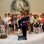 Conductor & Music Director Agripino Diestro / Noema Erba visits and rehearse with the Angono Youth Chamber Orchestra @the City of Angono in the Province Rizal, Philippines