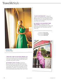 Noema Erba - TravelifeStyle - Interview 2013