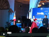 Noema Erba and Conrado Ong III sing 'The Prayer'