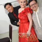 "Noema Erba, soprano, Conrado ""Dondi Ong"", tenor and Prof. Augusto Agot Espino - Noema Erba performs ""The Jewels of Europen Opera"" in Manila, Philippines"