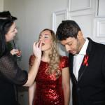 Noema Erba & Miguelangelo Cavalcanti - 'Art for Life 2012' - Behind the Scenes