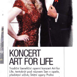 "Short Announcement in 'Lovestar"" - Czech monthly magazine. Oct 2012 Noema Erba, sopran & Miguelangelo Cavalcanti, baritone for 'Art for Life 2012'"