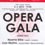 Noema Erba & Ivan Marino - Opera Gala - Concert Marianske Lazne - POSTER - 20150605