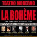 Noema Erba as Mimi in La Boheme - Italy, Grosseto - 20150418
