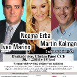 Poster Concert Dvakacovice - 20141130 - Webpage Noema